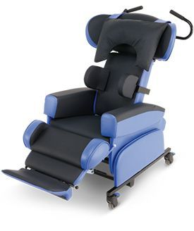 Back angle recline features of CareFlex seating
